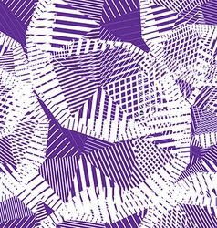 Geometric pastel stripy seamless pattern tattered vector