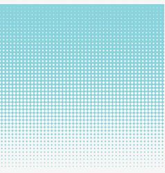Half tone circular pattern blue seamless halftone vector