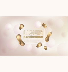 liquid fluid background vector image