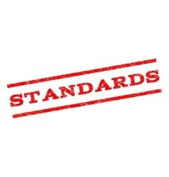 Standards Watermark Stamp vector image