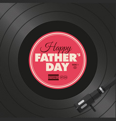 Vinyl-fathers-day-two vector