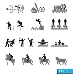 ICONS Sport vector image vector image