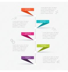 Minimal infographics design vector image vector image