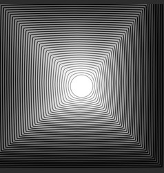 Abstract background circle blending to square vector