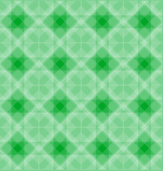 abstract geometric shapes pattern green background vector image