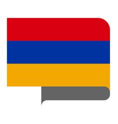 Flag horizontal shape pointer for world map vector