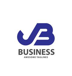 Jb letter vector