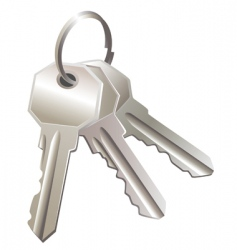 Three keys vector