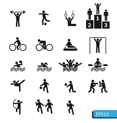 ICON Sports vector image