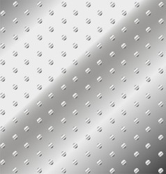 Dotted Metal Iron Texture Abstract Background vector image