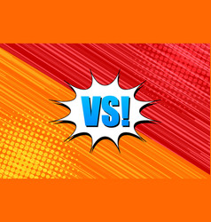 Comic competitive background vector