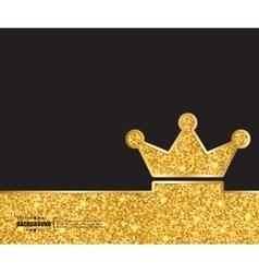 Creative crown Art template vector