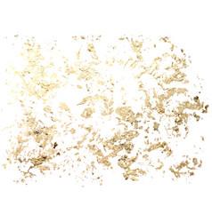 marble gold grunge texture patina scratch golden vector image