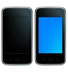 mobile phones vector image