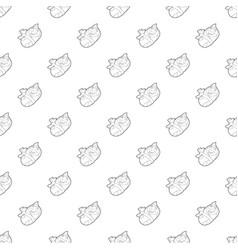 Newborn baby pattern seamless vector