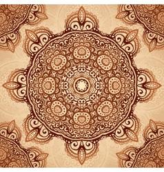 Ornate vintage napkin background vector image