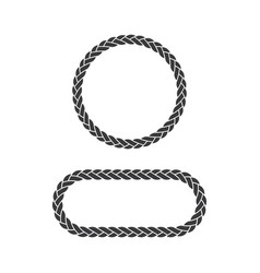 rope design vector image