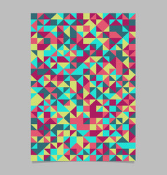 seamless abstract polygonal geometrical triangle vector image
