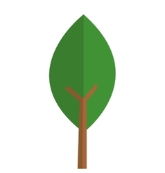 single tree icon vector image