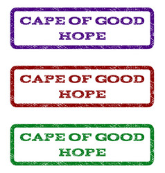 cape of good hope watermark stamp vector image