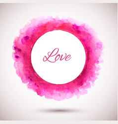 ring-pink-love vector image