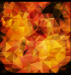 Abstract flame triangles background vector
