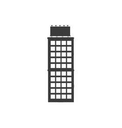 Buiilding facade architecture board roof image vector