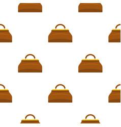 carpetbag pattern seamless vector image