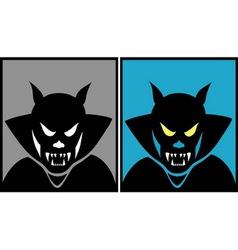 Dracula halloween mask 1 vector