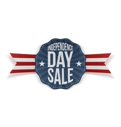 Independence Day Sale vintage Banner vector image