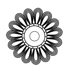 Mandala ethnic oriental circle ornament vector