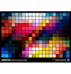 Mosaic wallpaper vector image