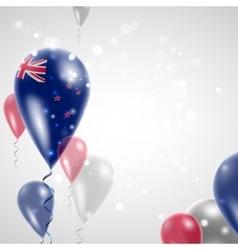 New Zealand flag vector image