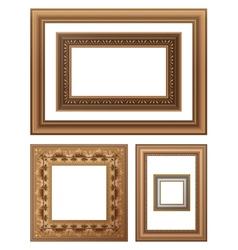 framing vector image vector image