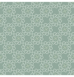 Seamless pattern of light leaves or hearts vector image