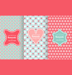 Pink chic seamless pattern vector
