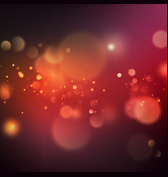 abstract color bokeh background eps 10 vector image