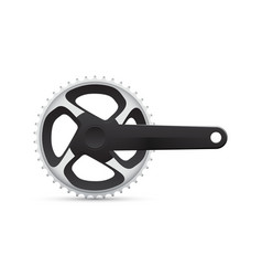 Bicycle crank vector