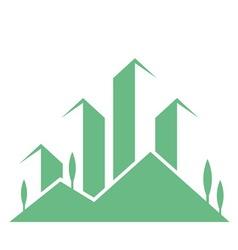 eco buildings 08 01 vector image