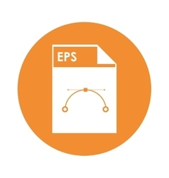EPS file icon vector