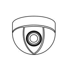 Figure video camera technology computer icon vector