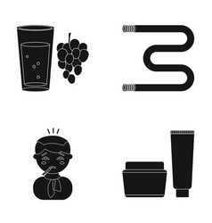 Medicine cosmetology hygiene and other web icon vector