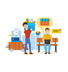 Order payment tracking delivery review product vector