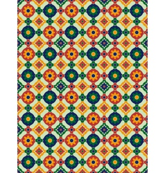 Spanish mosaic vector