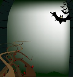 The woods vector