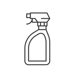 Trigger spray bottle cleaning service related vector
