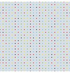 polka dot seamless background vector image vector image