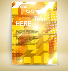 Brochure and Flyer Template vector image