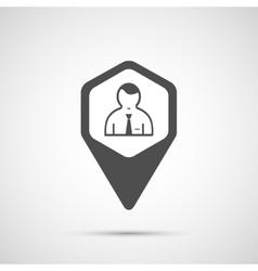 People design Man icon vector image vector image
