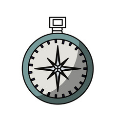 Compass travel navigation vector